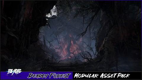 Deadly Forest - Modular Asset Pack