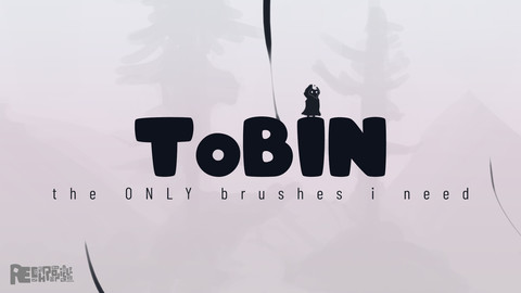 ToBIN: the ONLY brushes I need | Photoshop Brush Pack