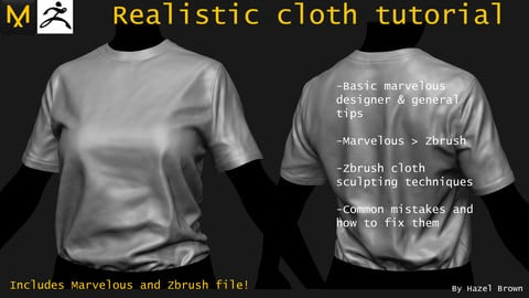 Realistic clothing tutorial