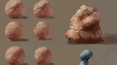 5 Rock Texture Brushes