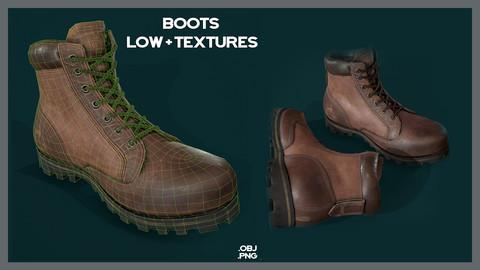 Boots Low + Textures /E.C.L