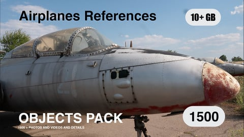 Obj Pack  / Airplanes   reference pack High Resolution (Planes)