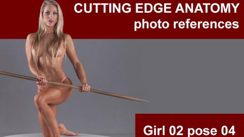 Cutting edge photo references Girl02 pose 04