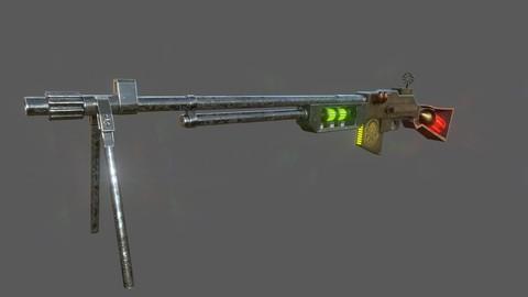 Steampunk Browning Automatic Rifle M1918