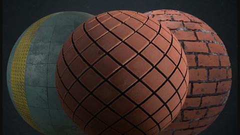 Brick Diamond Wall