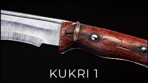 EMPIRE 3D Knife Kukri 1