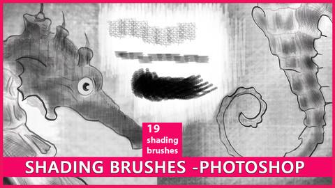 Shading Brushes for Photoshop