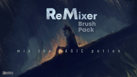 ReMixer | Photoshop Mixer Brush Pack