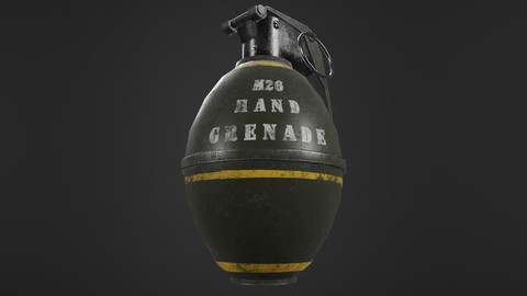 Hand Grenade Military