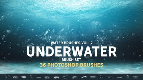 Underwater Brush set