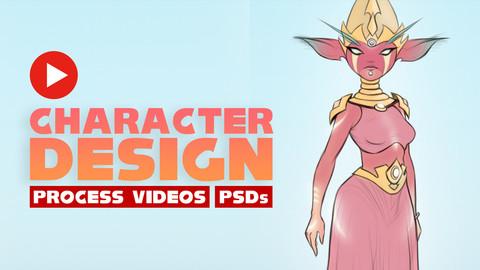 Character Design Process - Iatros