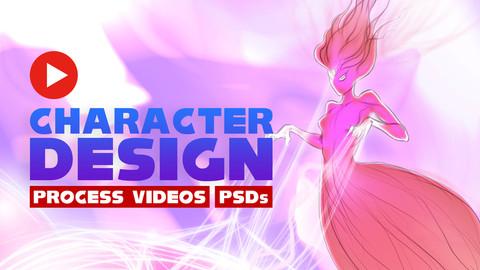 Character Design Process - Akna