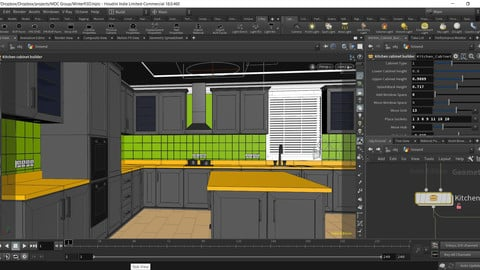 Procedural Kitchen Designer HDA