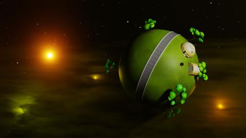 Dragon Ball - King Kai's Animated planet