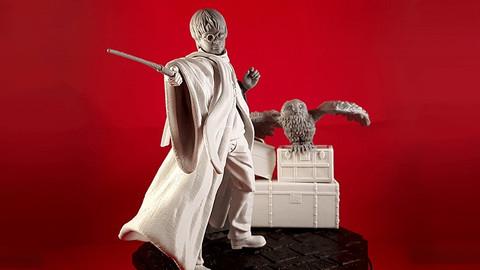Harry Potter STL File For 3D Printing Figurine