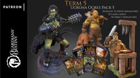 Term 5 - Ugruha Ogres pack 5