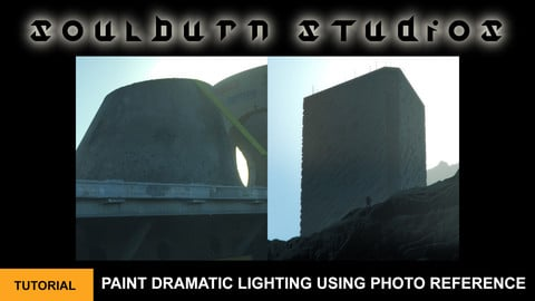 Paint Dramatic Lighting Using Photo Reference