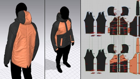 Marvelous Designer 6.5: Making A Jacket From Scratch