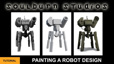 Painting A Robot Design
