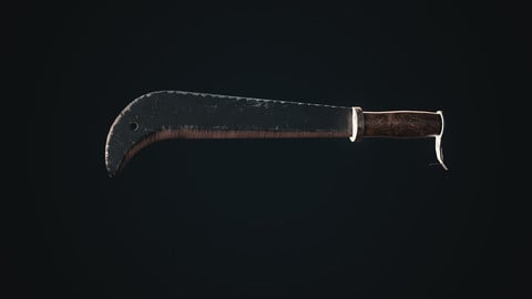 Axe7 Gameready Low-poly 3D model