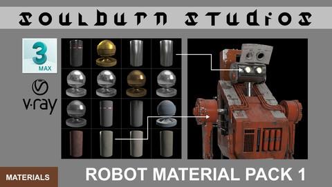 Soulburn Studios Robot Material Pack 1