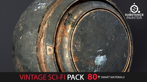 Vintage Sci-Fi Pack  80+ Smart Materials