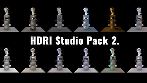 HDRI Studio Pack 2