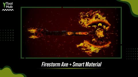 FireStorm Axe + Smart Material