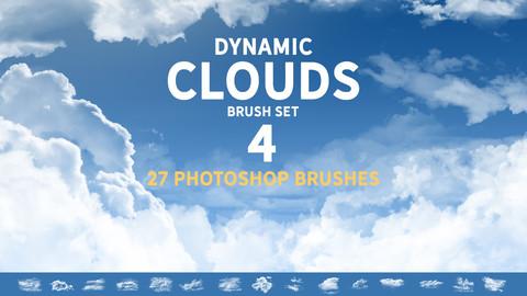 Dynamic Clouds Brush set 4