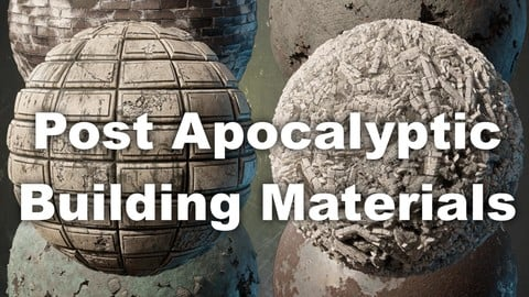 Post Apocalyptic Building Materials Pack