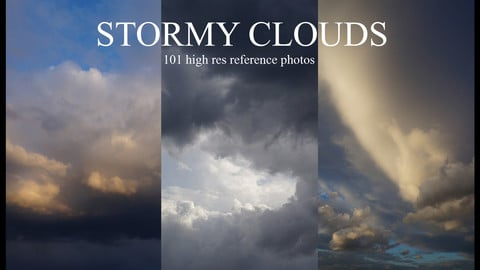 Stormy Clouds and Skies Photo pack