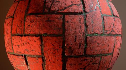 Brick Weave Pathway Material