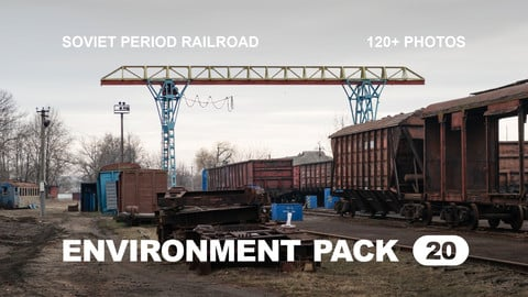 Env Pack 20 / Soviet period railroad / Reference pack