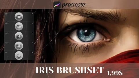 Iris Brushes for Procreate