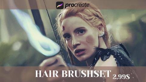 Hair Brushes for Procreate