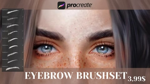 +9 Eyebrow Brushset for Procreate
