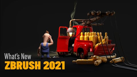 ZBrush 2021 - What's New, PLUS Bonus!