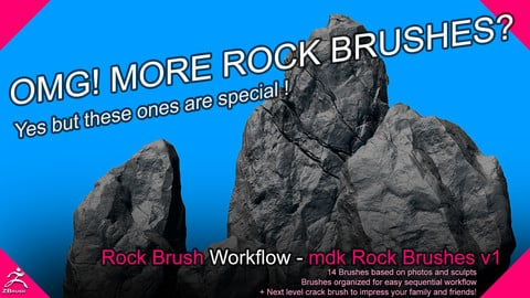 mdk Rock Brushes V1
