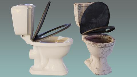 Dirty vs Clean Toilet