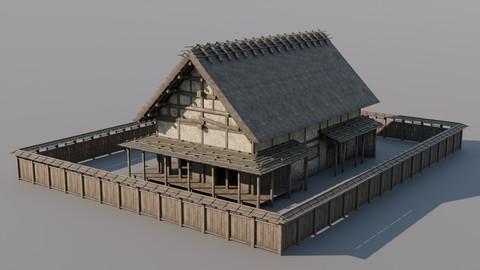 Japanese Modular Folk Houses