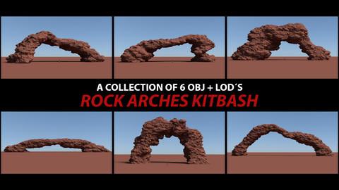 Rock Arches Kitbash