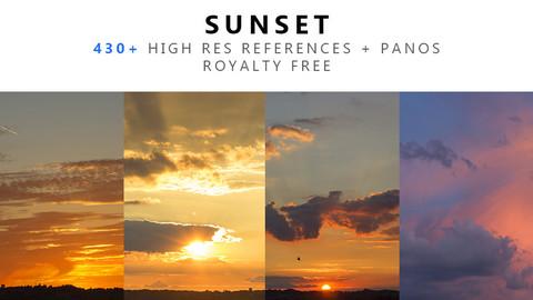 Sunset Texture PACK 02