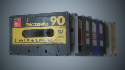 15 Cassette Tapes