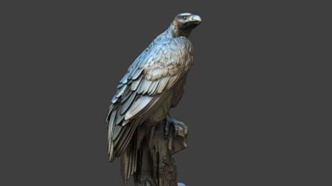 Eagle on base