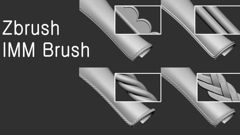 Zbrush Imm Brush
