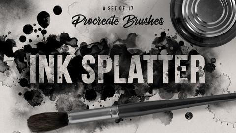 Ink Splatter Volume 2 Procreate Brushes