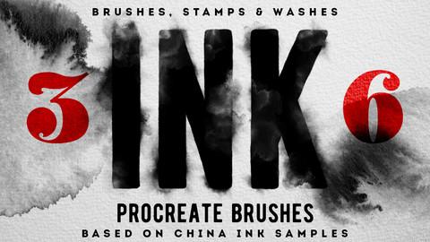 Ink Procreate Brushes