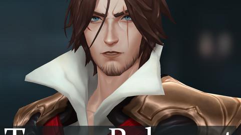 Trevor Belmont Fanart - Free Game Character Rig