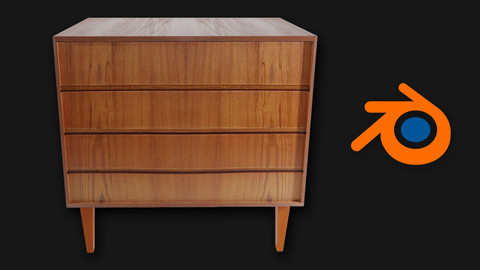 Furniture Chest of drawers Wall unit 02