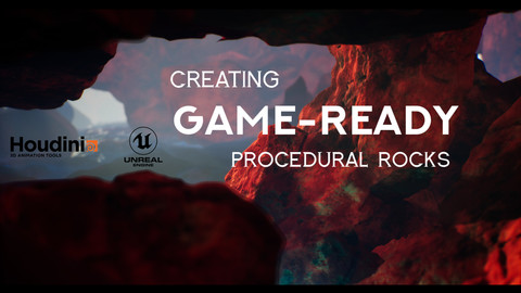 Houdini Tutorial Creating Game-Ready Procedural Rocks
